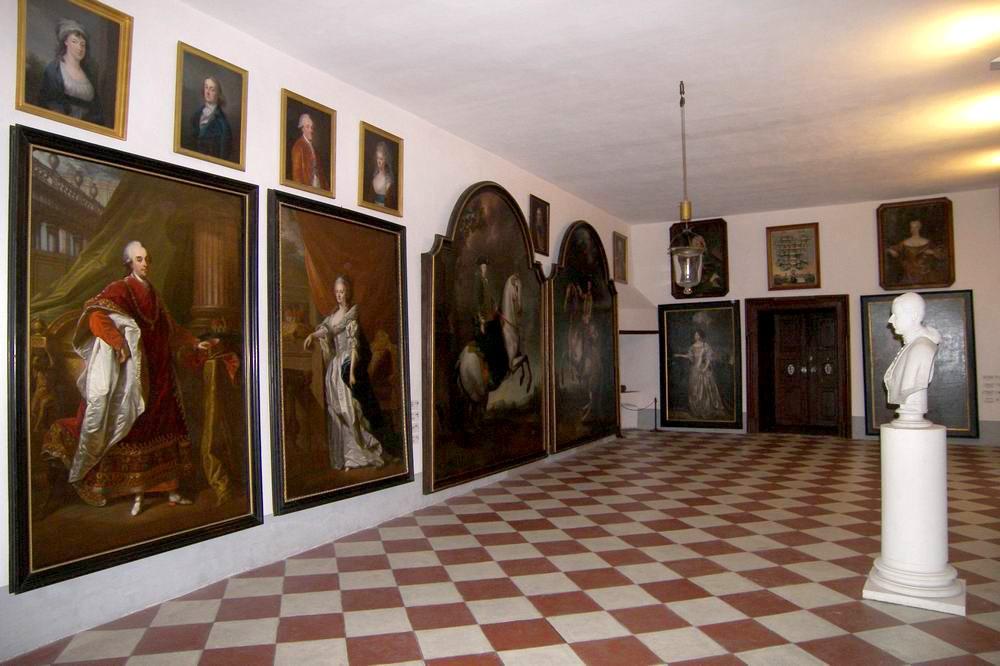 Портретная галерея в Крумловском замке