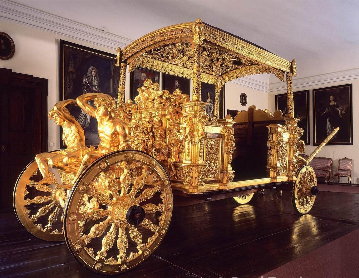 Золотая Карета в Крумловском замке