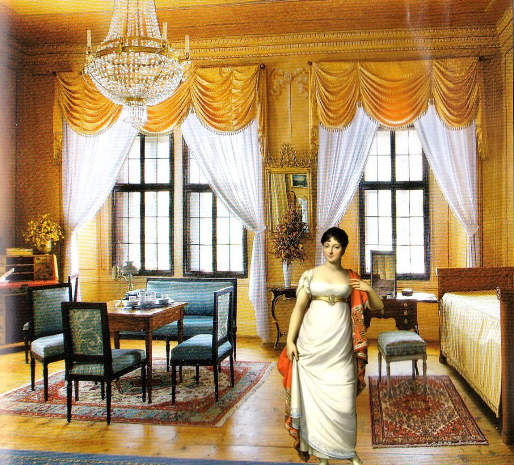 Комната гостей в Крумловском замке