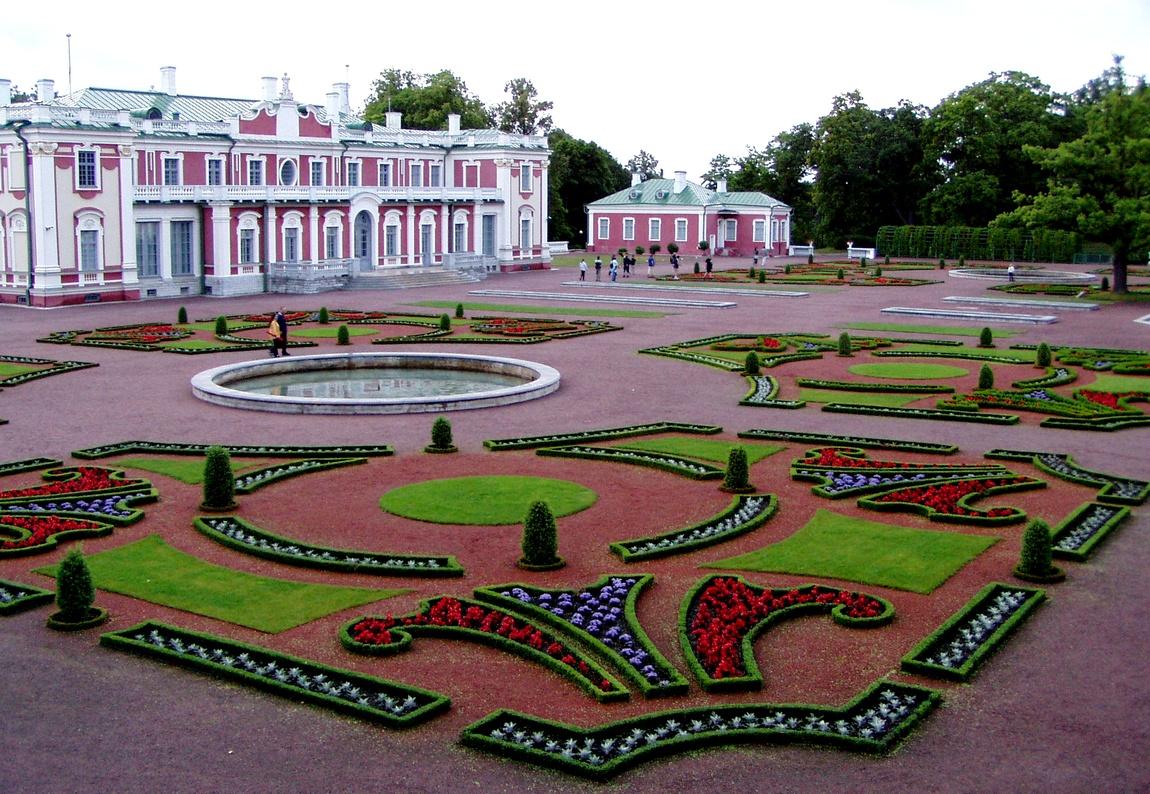 Парк в Таллина Кадриорг