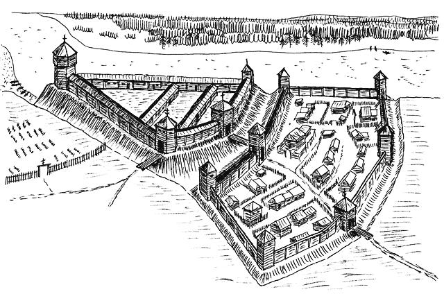 План города15 века -Слободской