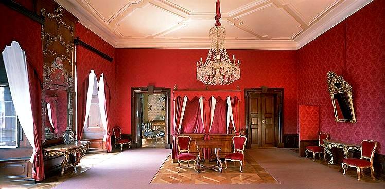 Балдахинный салон в Крумловском замке