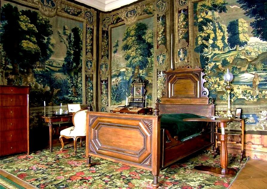 Спальня в Крумловском замке