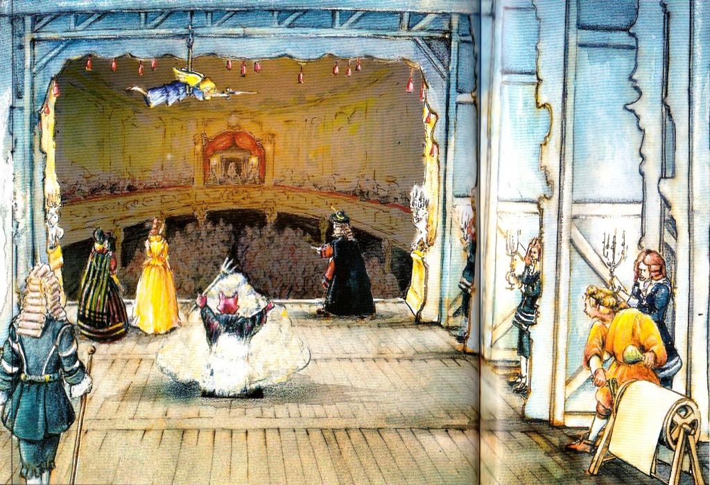 Барочный театр в Крумловском замке
