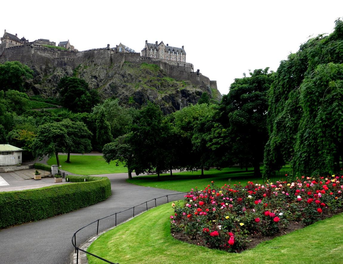 парк в Эдинбурге
