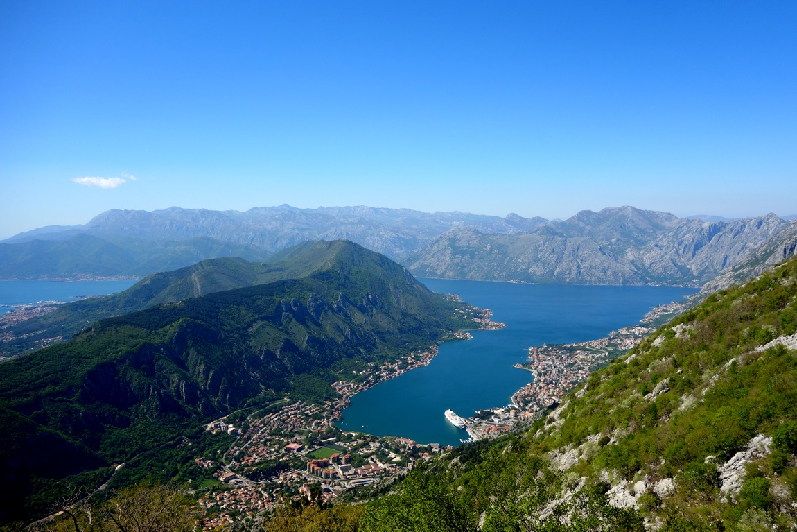 Залив Боко-Котор в Черногории
