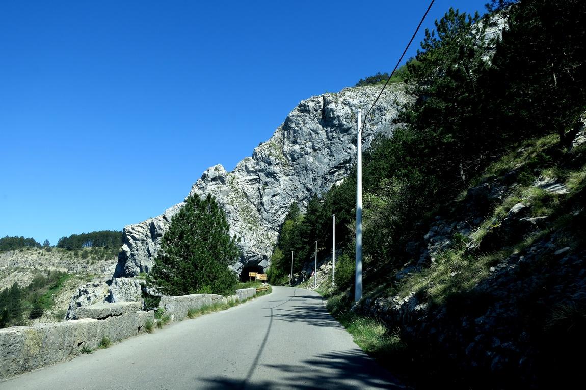 Дорога в горы (Черногория)