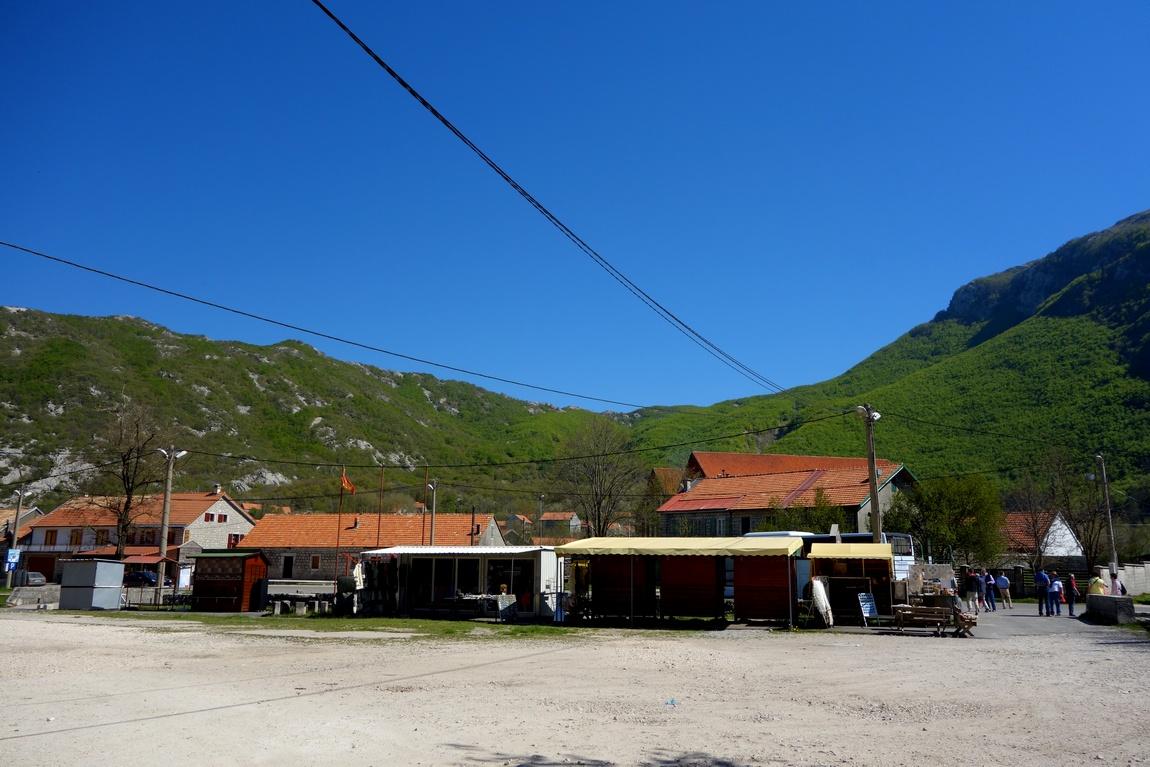Посёлок Негуши в Черногории