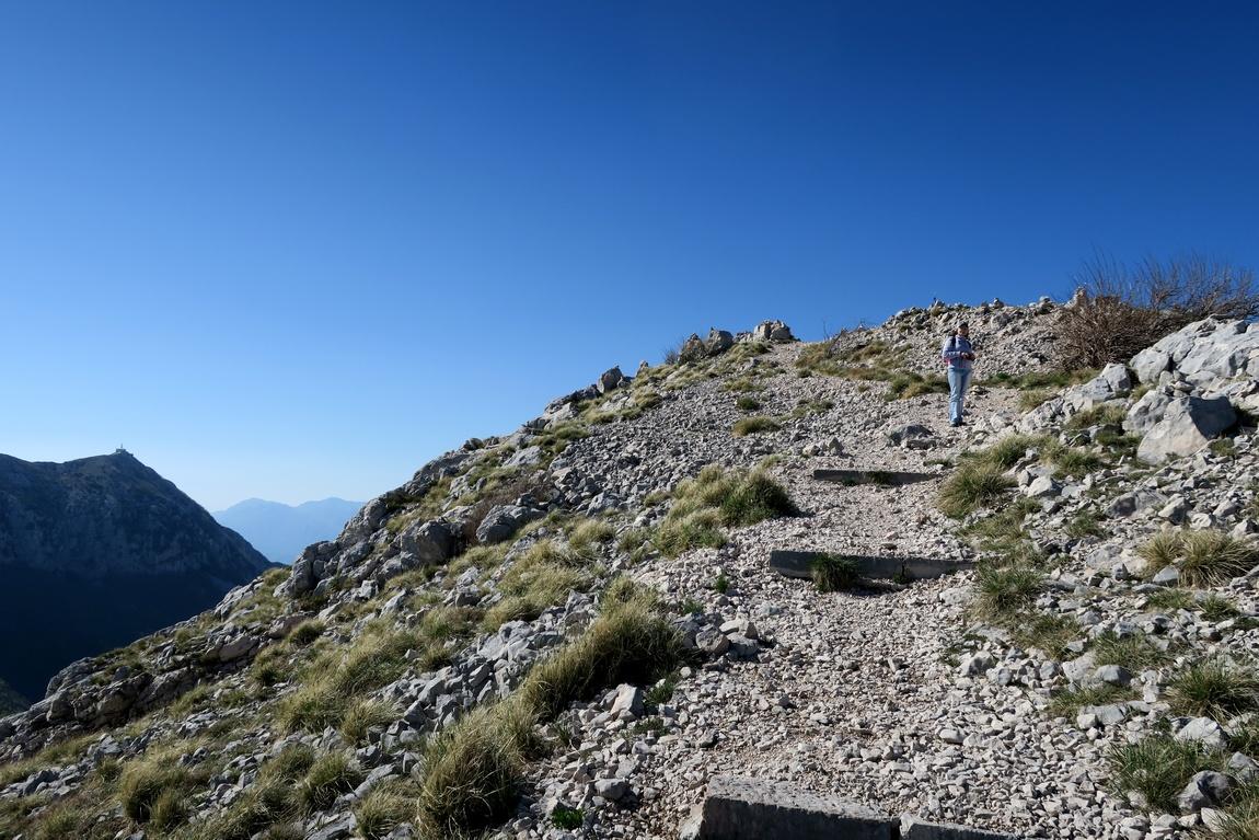 Подъём в горы Ловчен