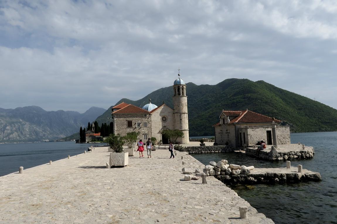 Церковь Пресвятой Богородицы - Пераст на острове (Черногория)
