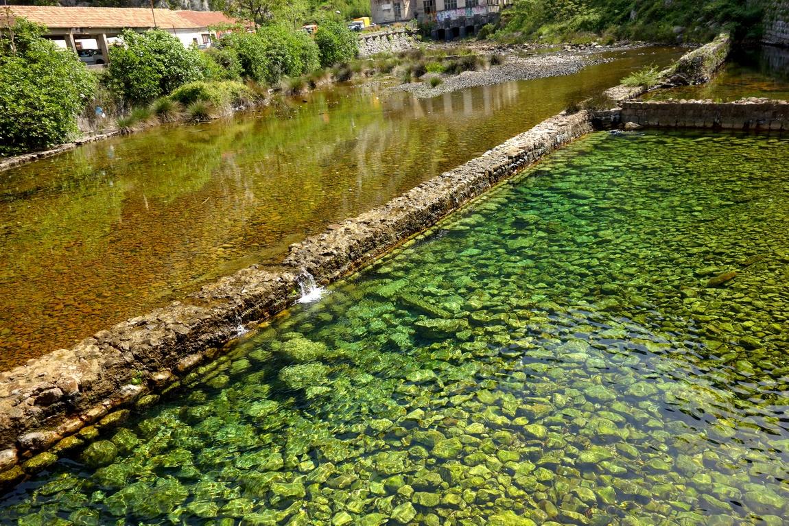 Русло реки в г. Котор