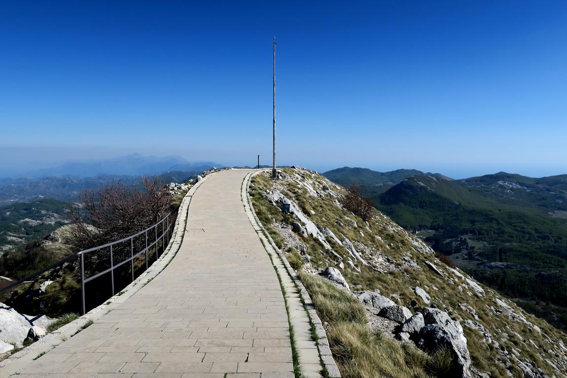 Вершина горы Езерски-Врх в Черногории