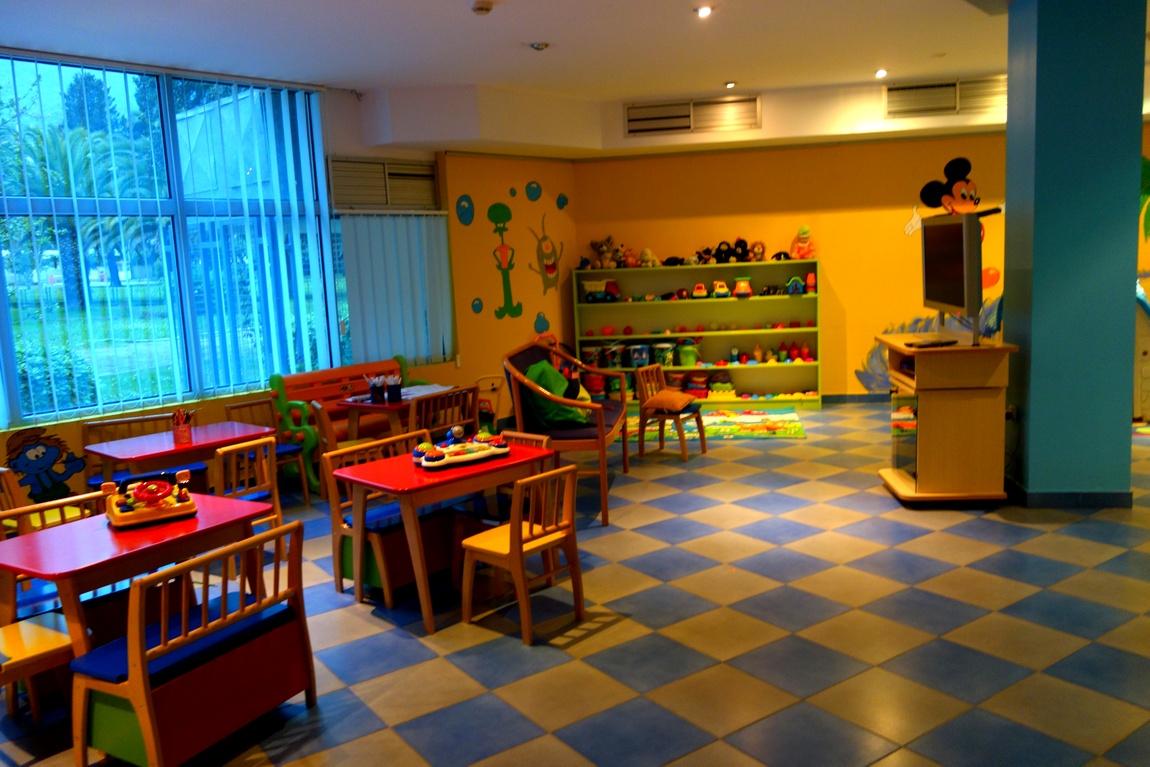 Детская комната при гостинице Монтенегро Черногория