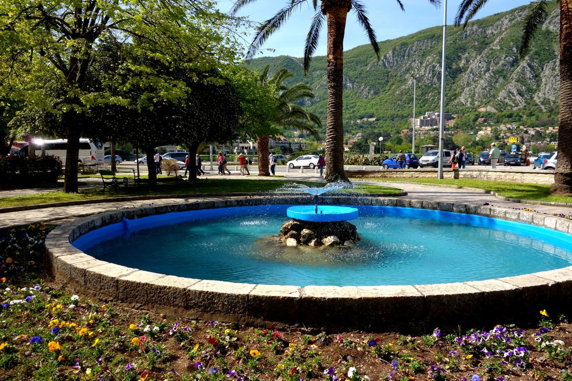 Площадь в городе Котор