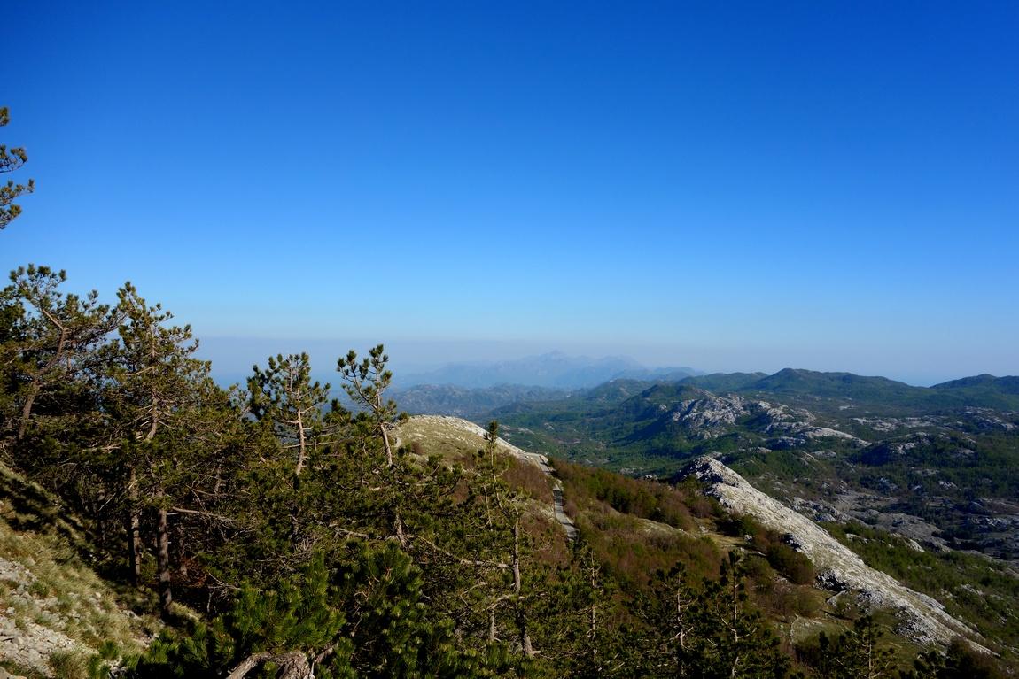 Горы Ловчен в Черногории