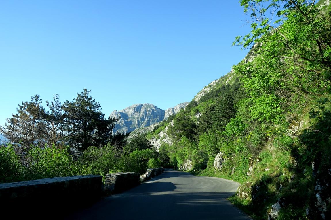 В горах Ловчен в Черногории
