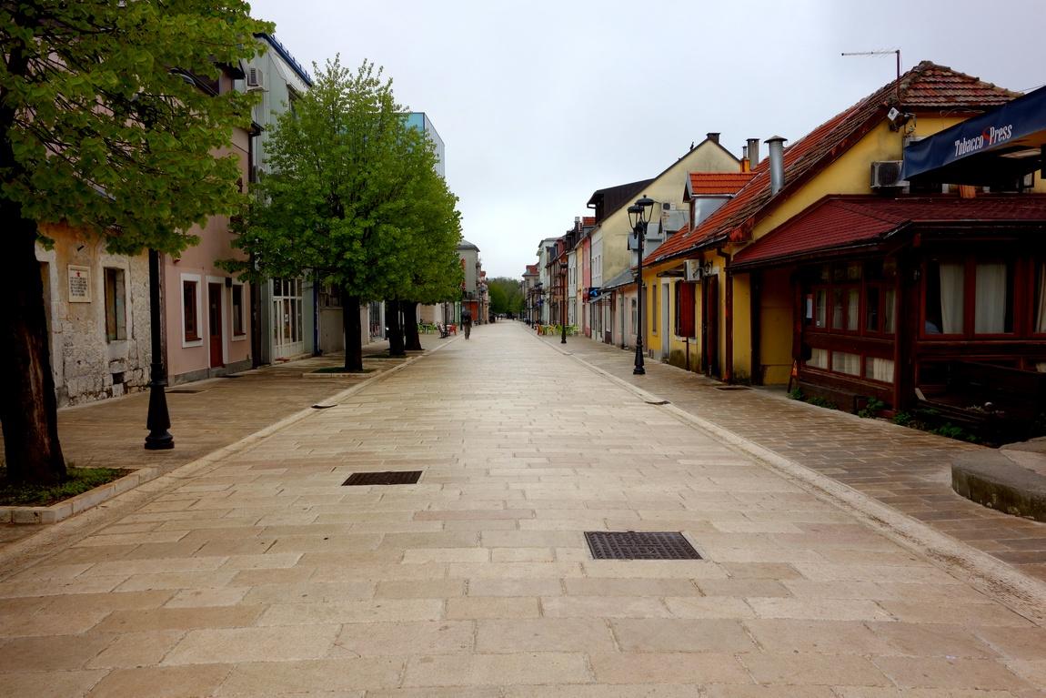 Цетине в Черногории