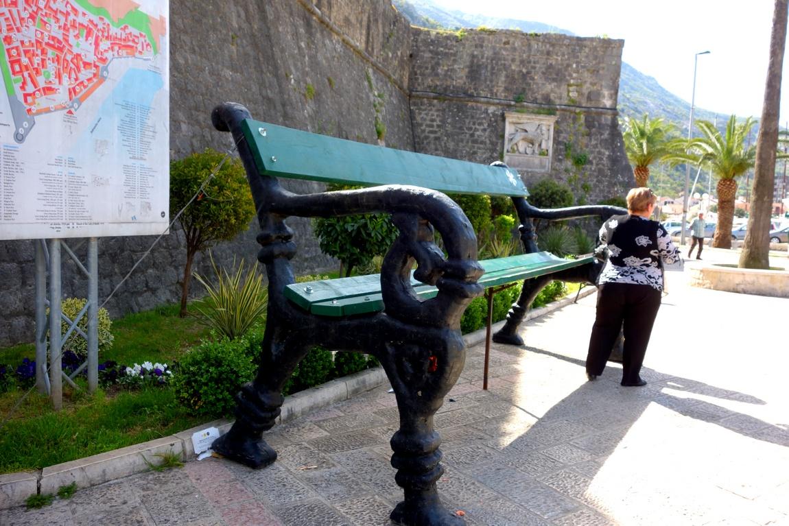 Скамья для атлантов (Черногория) -Котор