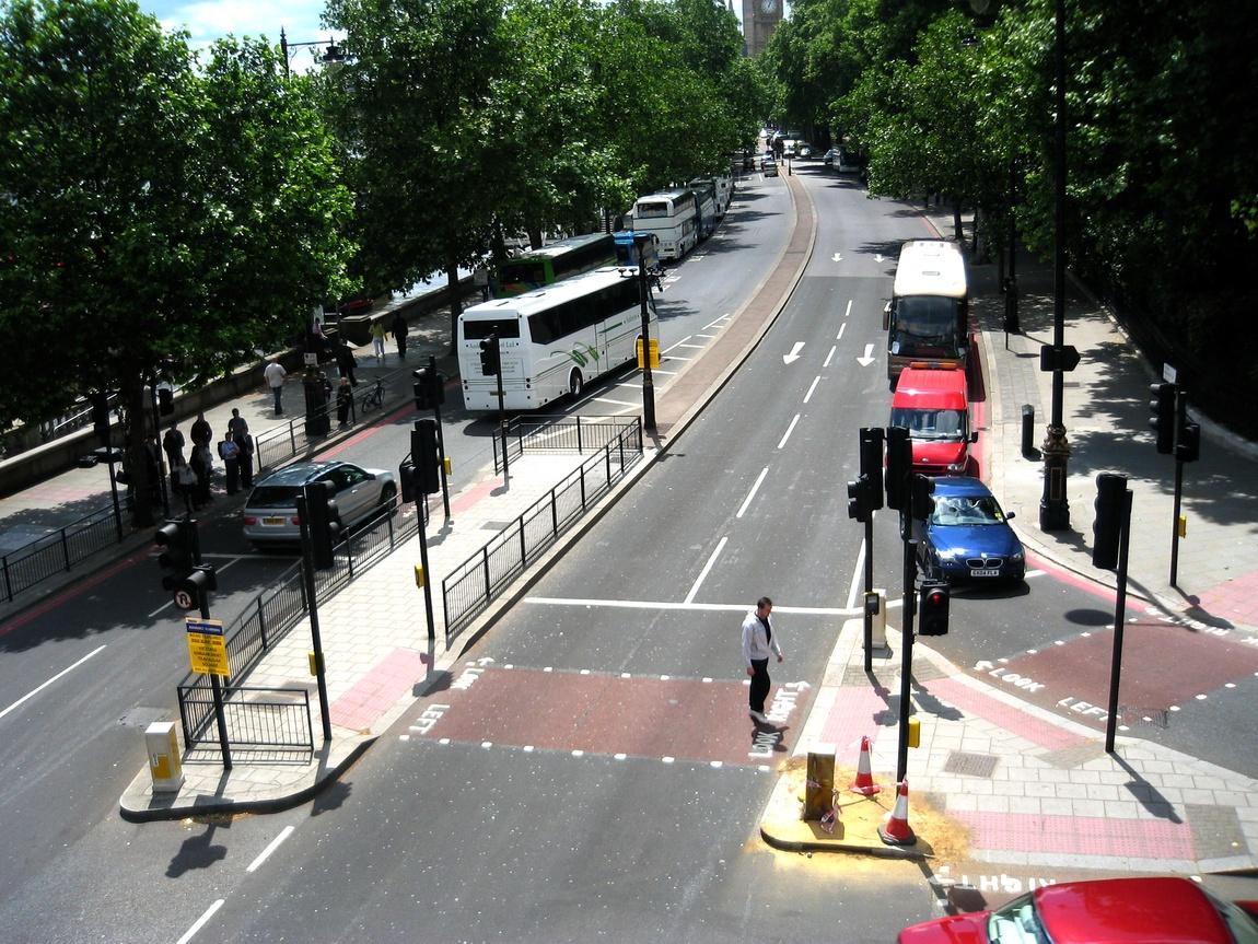 Англия (Лондон) -дороги