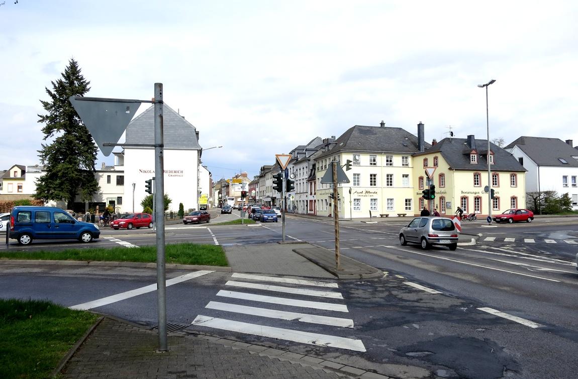 Перекрёсток в Германии