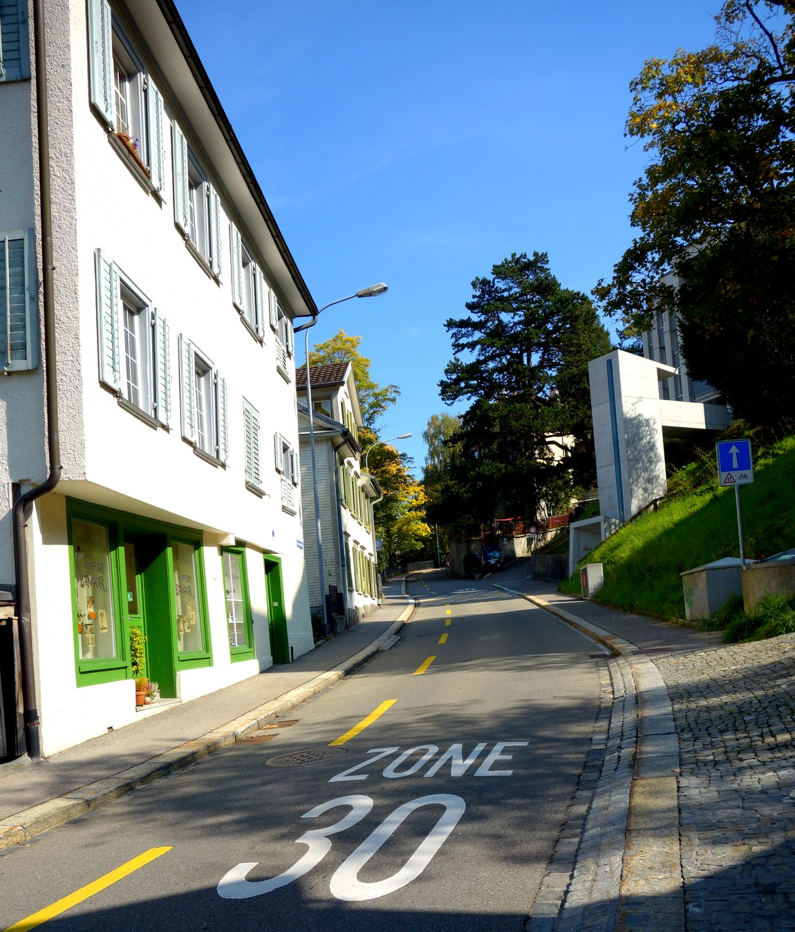 Дорога в Санкт-Галлен (Швейцария)