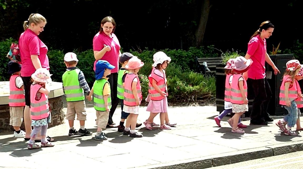 Дети на дорогах Англии