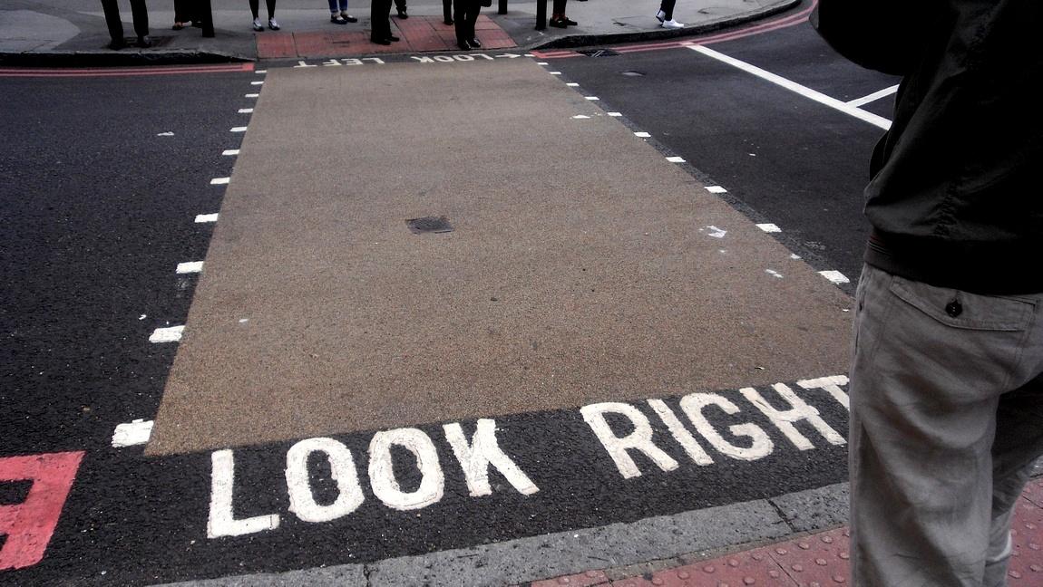 Оксфорд- дороги и перекрёсток