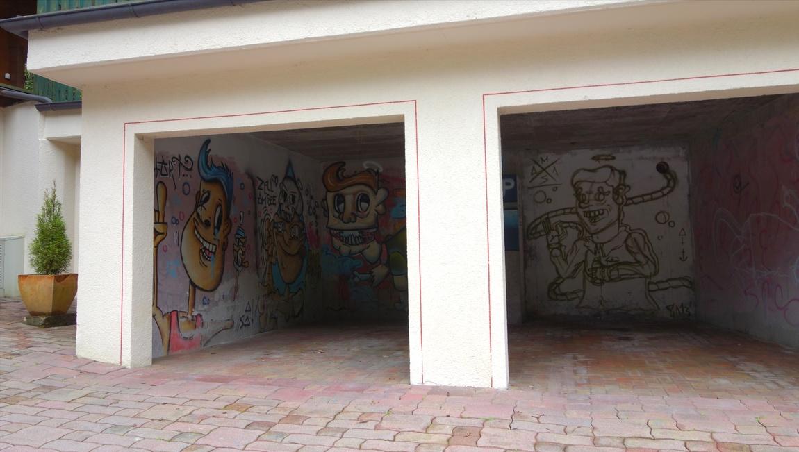 Остановка в городке Цель-ам-Зе в Австрии