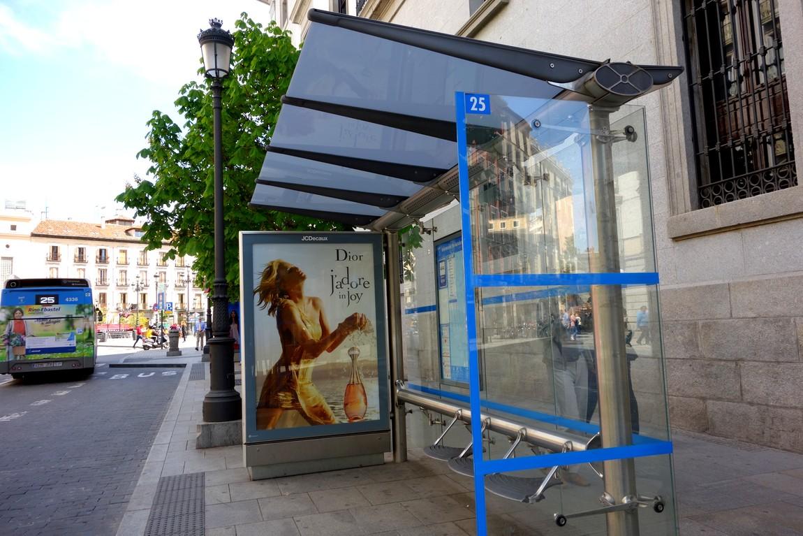 Остановки в Испании (Мадрид)