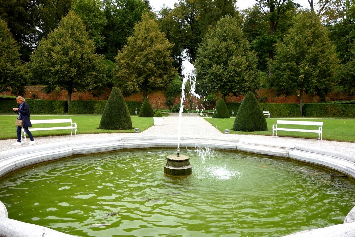 Парк в Аббатстве Мельк в Австрии.