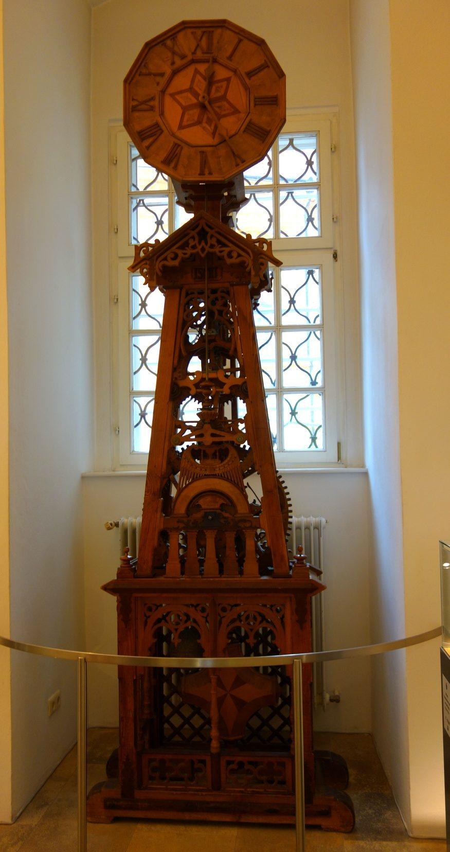 Часы в Аббатстве Мельк