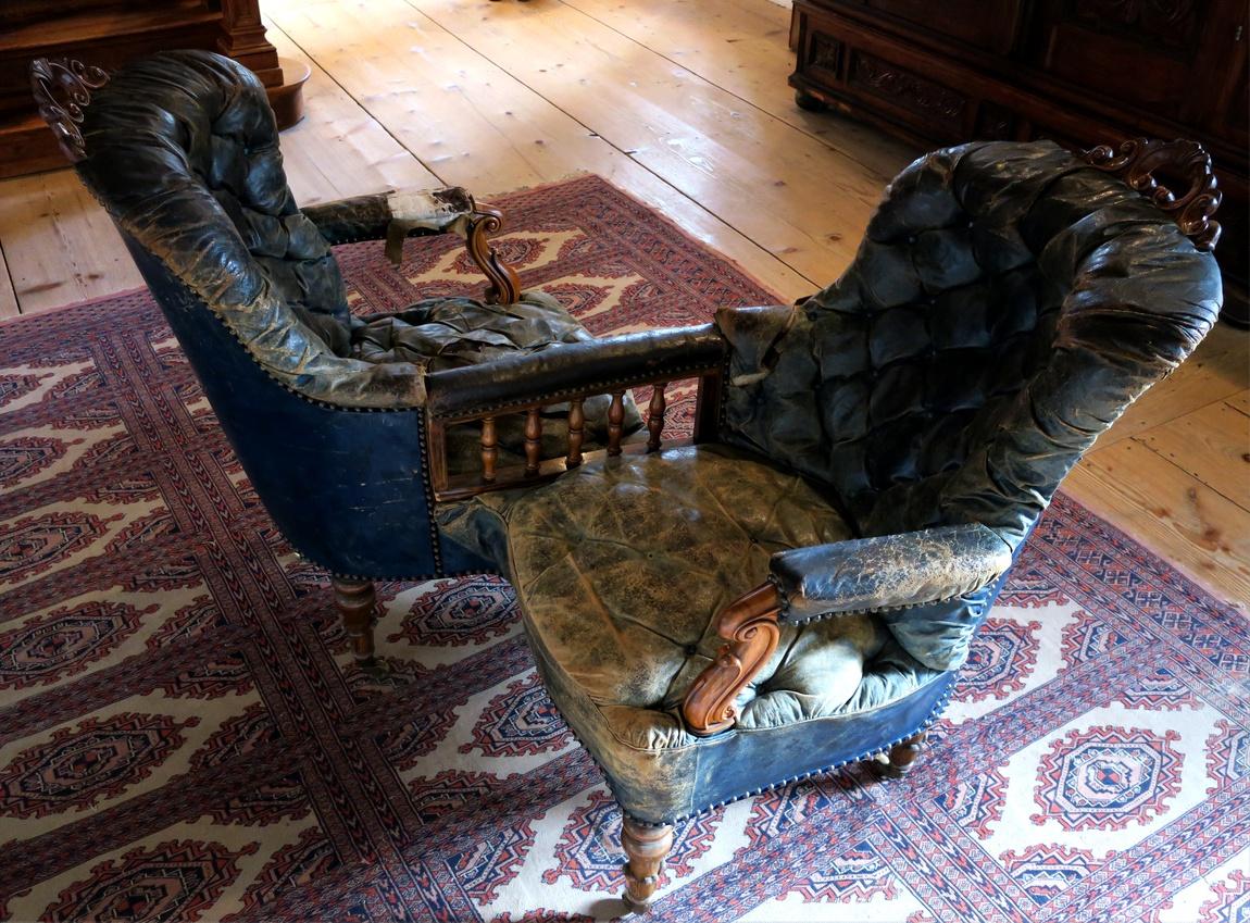 Сдвоенные кресло для знакомств в Замке Роз - Австрия