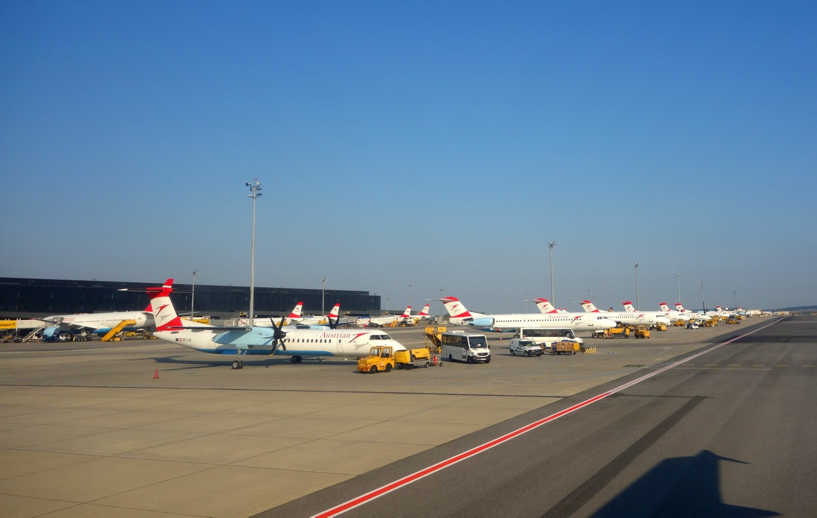Аэропорт в Вене (Австрия)