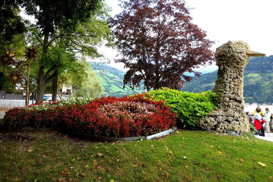 Парк Элизабет в Цель ам-зе Австрия
