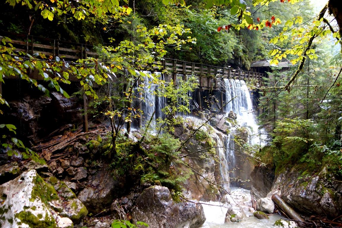 Ущелье Зайзенберкламм в Австрии