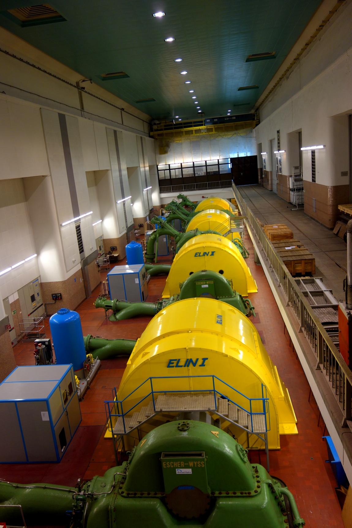 Зал Тауэрнской гидроэлектростанции
