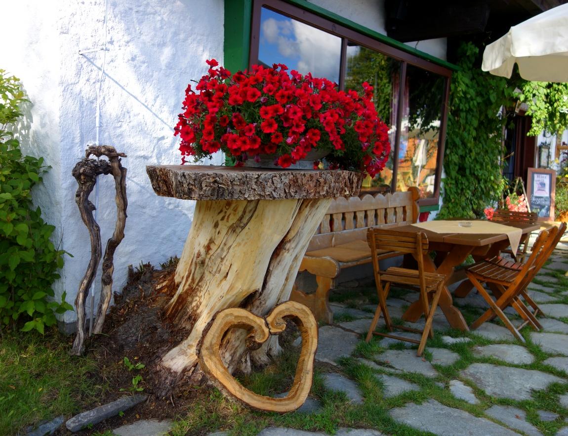 Цветочная композиция в Австрии