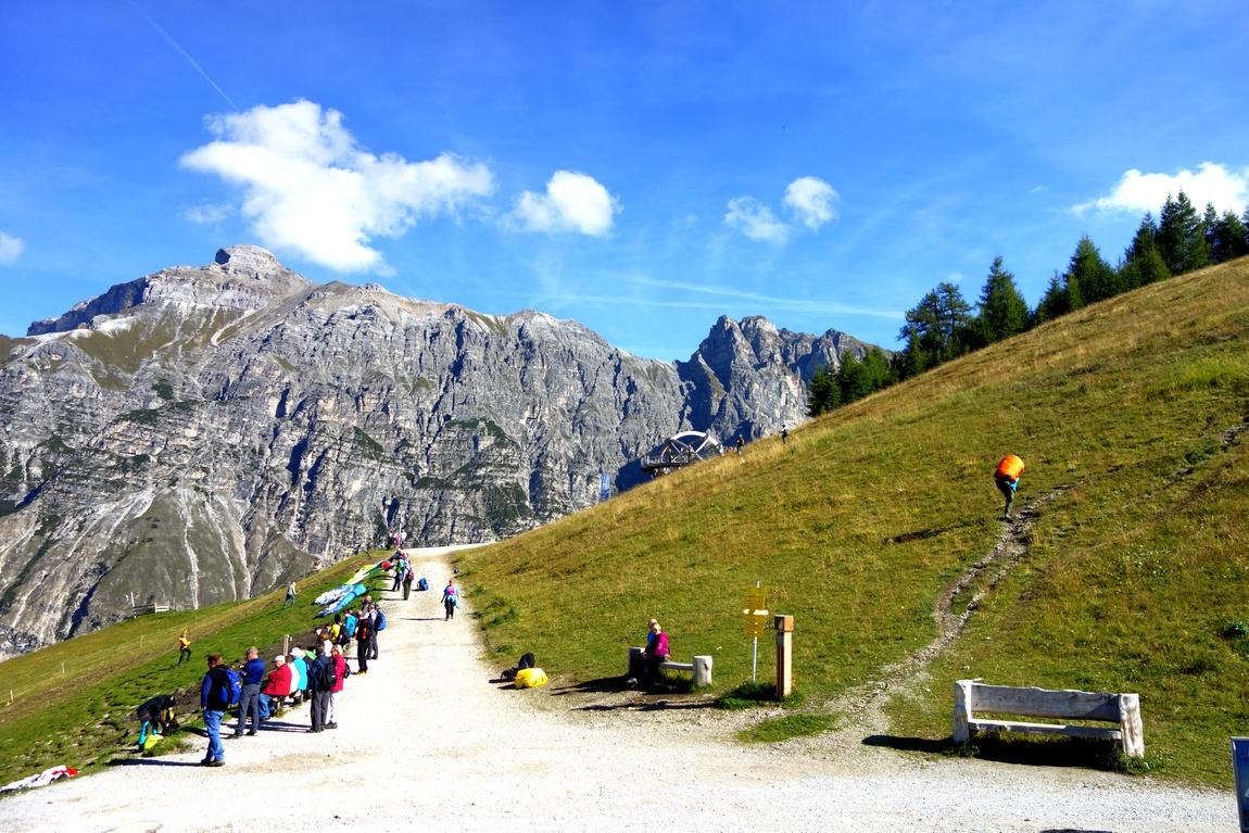 Гора Elfer в Австрии