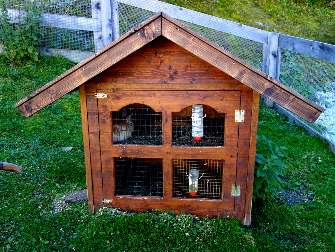 Домик для кроликов в Австрии