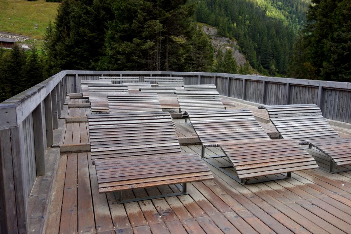 Терраса у водопада Грава - Австрия