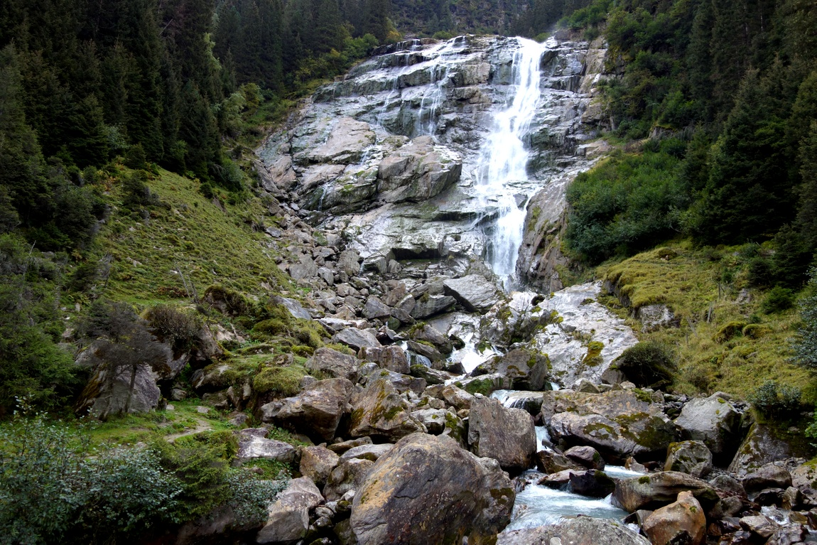 Водопад Грава (Grawa) - Австрия