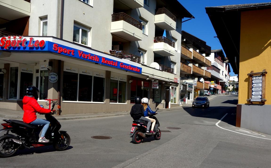 Посёлок Фулпмес в Австрии