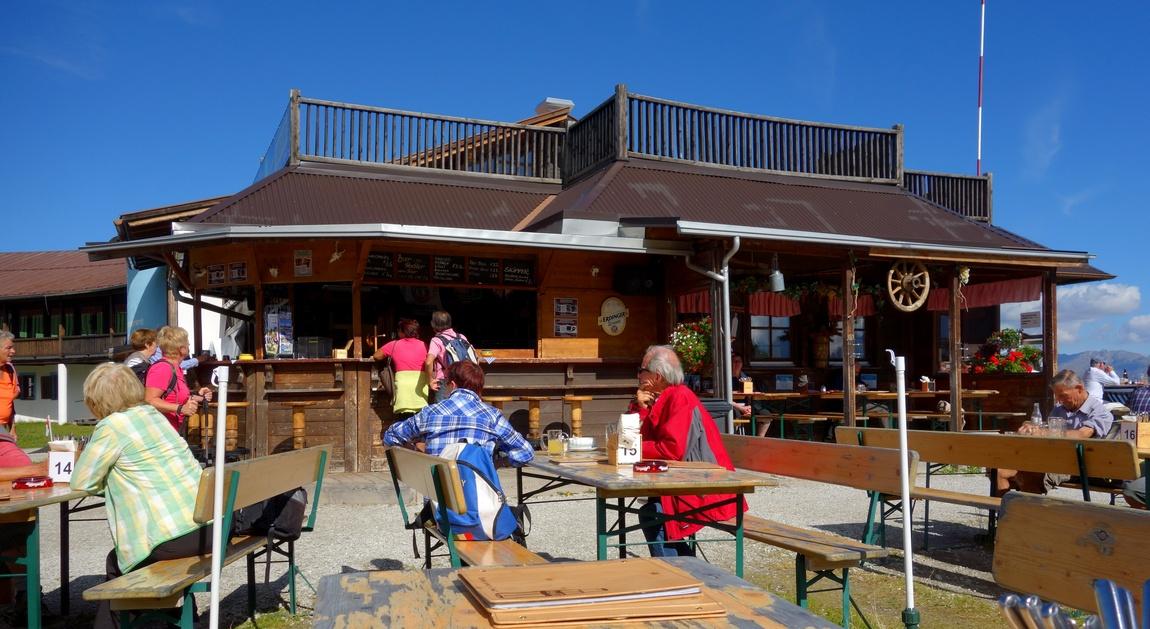 Кафе на верхней станции Schlick 2000 (Австрия)