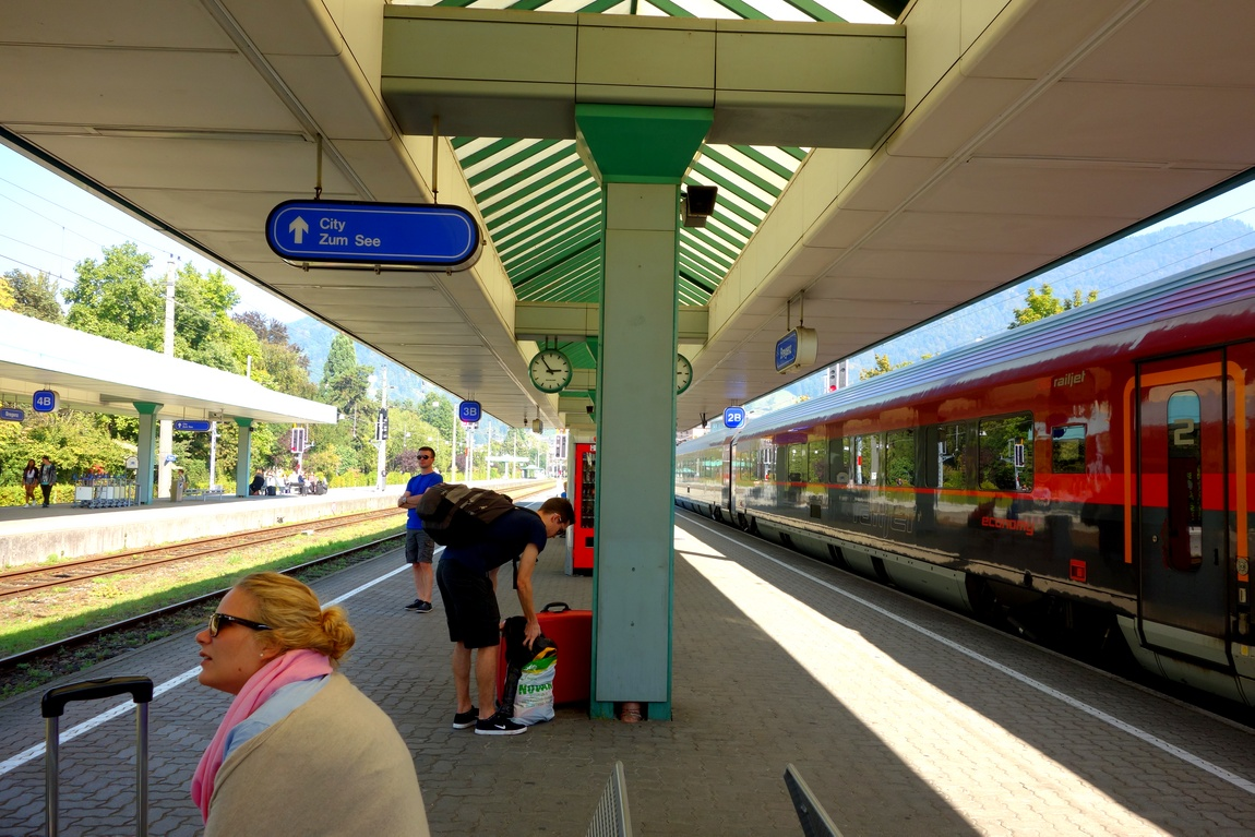 Вокзал в Марии Герц (Австрия-Германия)