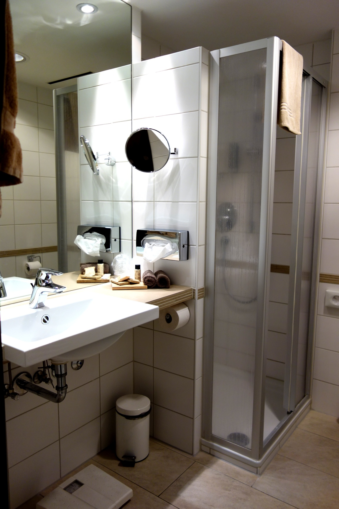 Ванная комната в гостинице Мемминген - Германия