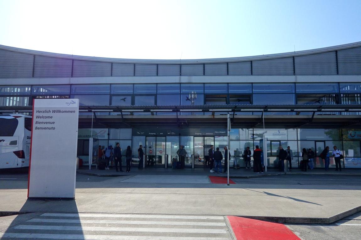 Здание аэропорта в Мемминген - Германия