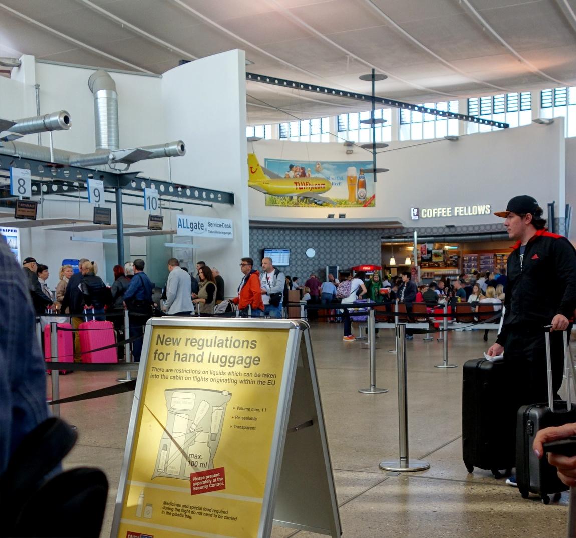 Аэропорт в Мемминген - Германия