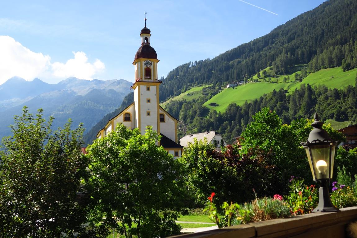 Нойштифт Австрия - церковь св. Георгия
