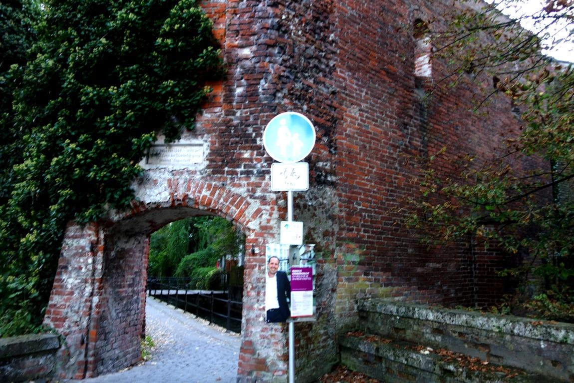 Древние стены г. Мемминген в Германии