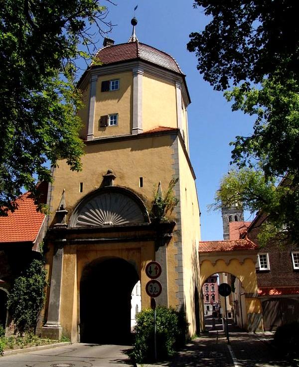 Ворота в городе Мемминген - Германия